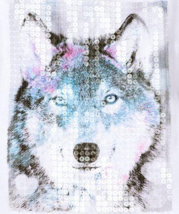Mein erster Wolf am Shirt